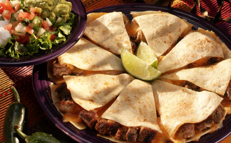 Stuffed Quesadilla